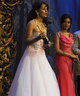 Kangna Ranaut best Supporting Actress award for her role in Fashion.