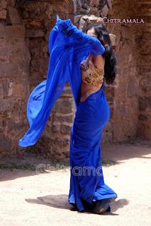 madhavi in saree