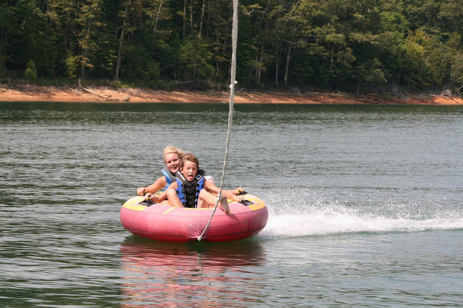 Jimmy and Chelsea Tubing