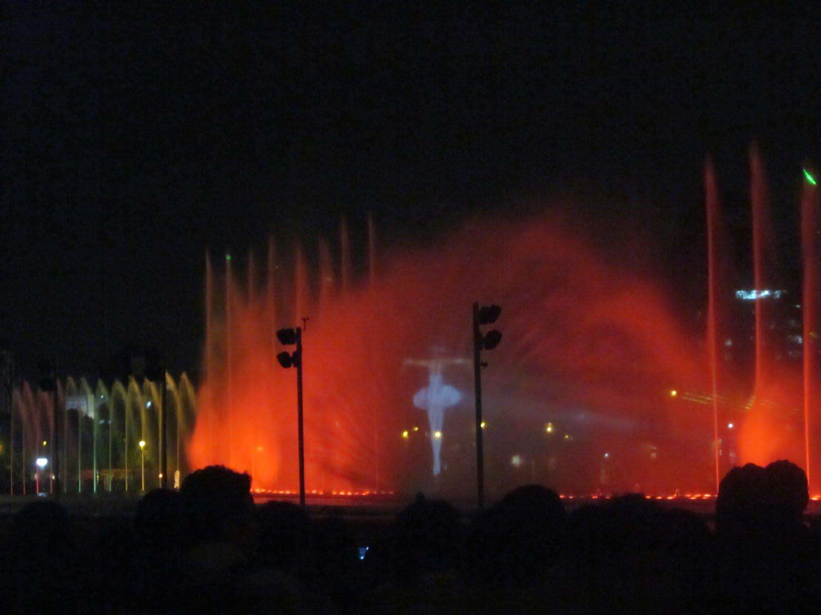 Lima, Peru light show