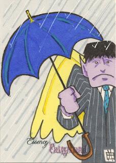 essence of fairyland, rain, wet, umbrella