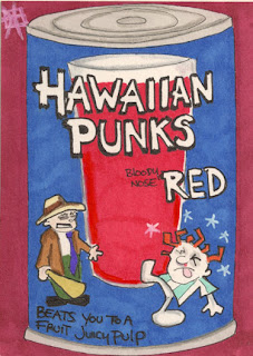 treasure chest, hawaiian punks