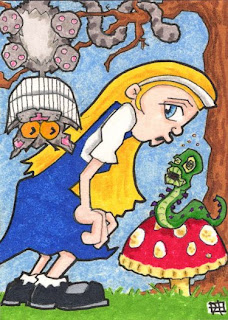 legends and lore, alice in wonderland