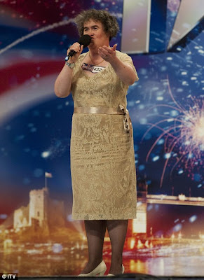 Susan Boyle I Dreamed a Dream Celebrity Gossip