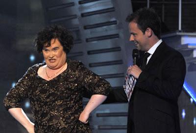 Susan Boyle Piers Morgan