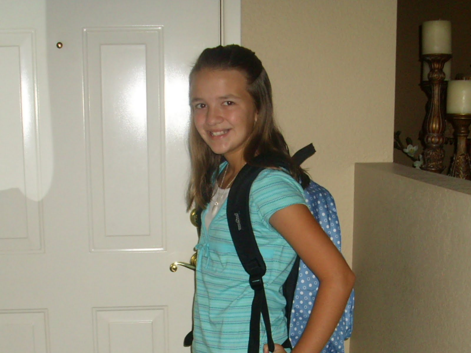 7th grade girl dating 6th grade boy