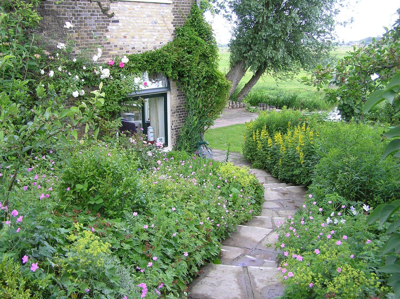 In de polder eigen tuin for Beneden tuin