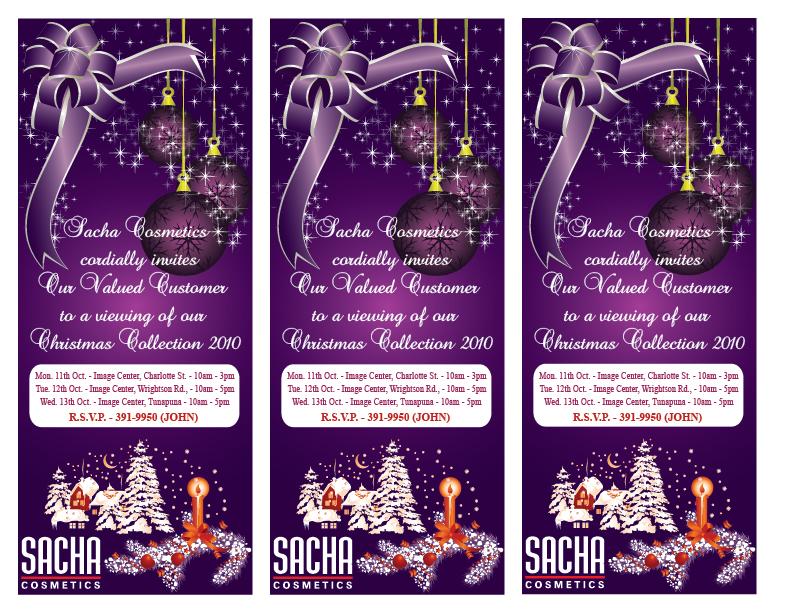 Kerwin Kissoon-Teemul: Sacha Cosmetics LTD - Portfolio