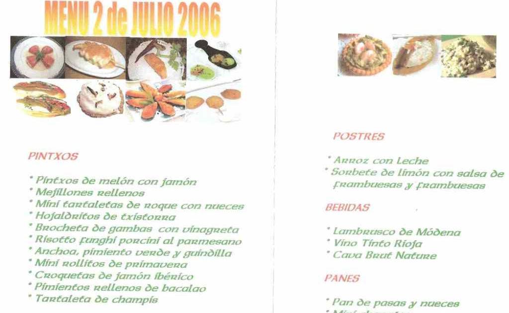 La loca cocina escribir menus para los invitados for Cocina para invitados