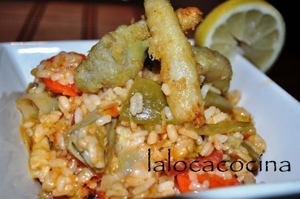 La loca cocina arroz con verduras hemc45 - Arroz con pescado y verduras ...