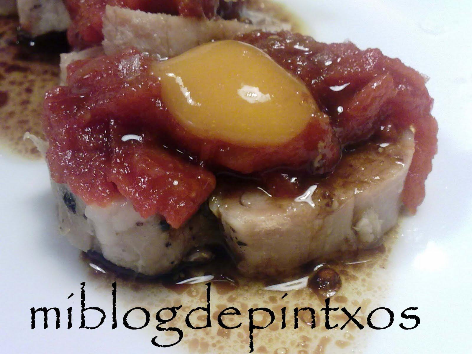 Raviolis rellenos de foie de oca con salsa de setas