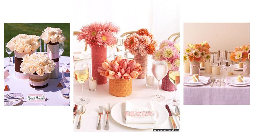Martha Stewart Wedding Flowers Centerpieces : Yours moment perfect blooms decor tuesday