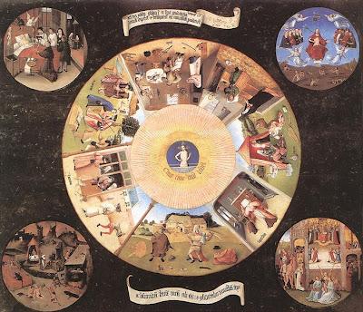 Hieronymus Bosch dutch artist painter artwork paintings boss bocsh Jerome Netherlands Holland triptychs gothic medieval surrealist heronymus hironimus