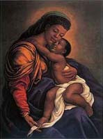 tim ashkar askar studios artist painter expressionist expressionism paintings painting garden black african american negro art prints posters