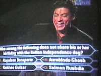 shah rukh khan shahrukh kbc kaun banega crorepati kbc holi valentines day episode