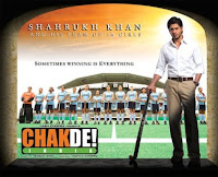 chak de india dhol movie review film hindi india delhi