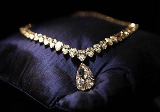 evening star diamond necklace