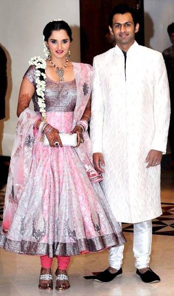 Thats How It Really Works Sania Mirza Shoaib Malik Wedding Pics