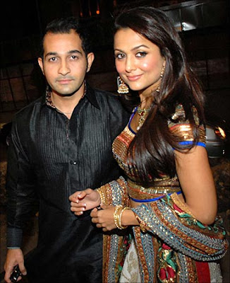 amrita arora shakeel ladakh wedding photos marriage picures images photographs nikaah muslim christian