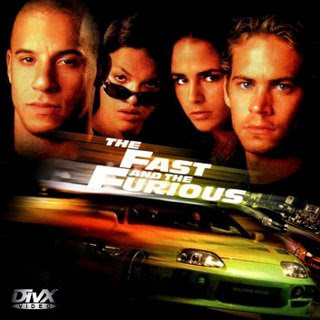 Picture of Vin Diesel paul walker michelle rodrigues from fast and furious 4 movie poster film photographs