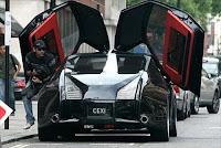 the prince Sultan of brunei customized porche rolls royce car