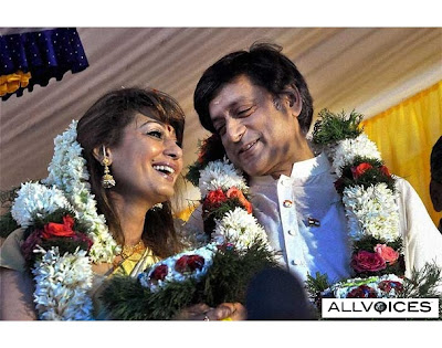 Photos of Shashi tharoor and sunanda wedding with marriage images of kerala ceremony pictures
