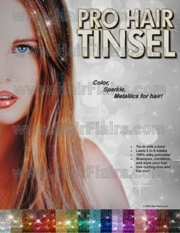 pro tinsel to review and offer in a giveaway product description hair