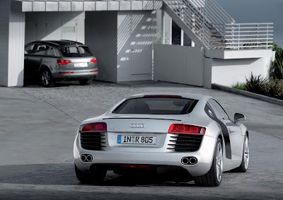 Audi R8 First Full LED Headlamps 2
