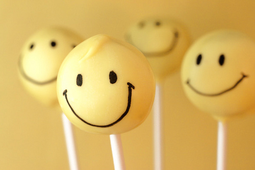 SmileyFaceLollipops