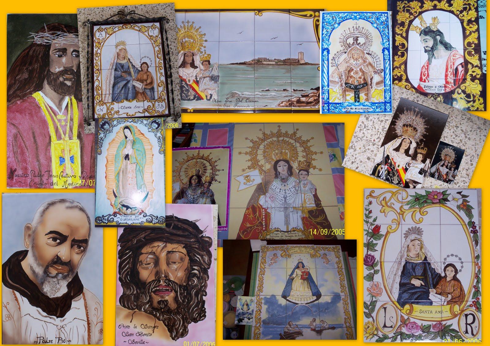 Azulejos la herradura murales de santos - Murales de azulejos ...