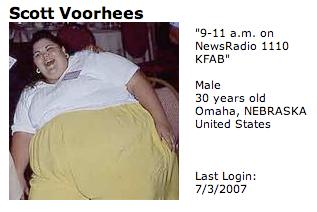 Voorhees MySpace page