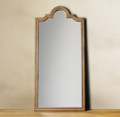 How do i love thee restoration hardware findings for Restoration hardware round mirror