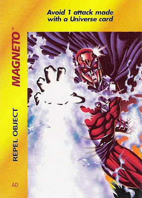 Bart Sears 'Marvel Overpower: Magneto - Repel Object' card
