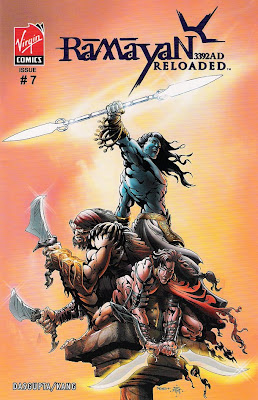 Bart Sears 'Ramayan 3392AD Reloaded #7' cover