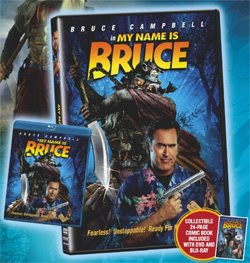 Bart Sears My Name is Bruce DVD