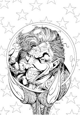 Bart Sears Wizard Unused Cover - The Joker