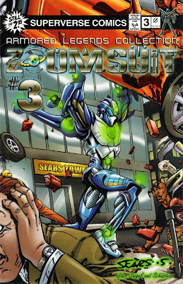 Bart Sears Zoom Suit #3 Regular cover