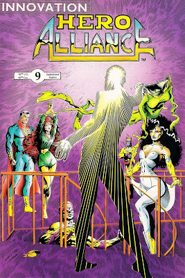 Bart Sears Hero Alliance #9 cover