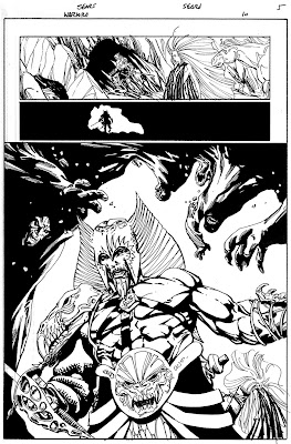 Bart Sears 'Warlord #10 page 5'