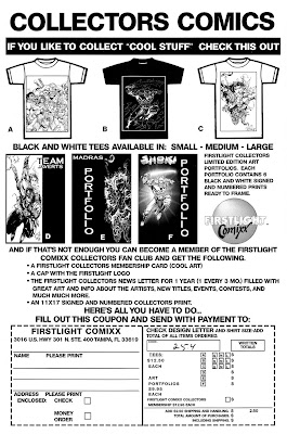 Firstlight Comixx Merchandise