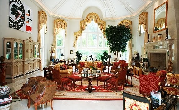 Can you guess who owns this house celebrity digs hq - Kimora lee simmons office ...