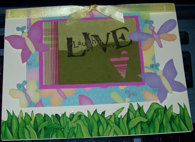 Laugh Live Love card