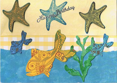 Birthday Sea Life Card