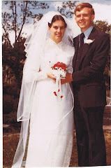 Our wedding day, 28 years ago!