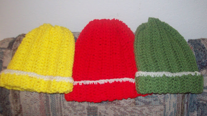3 more hats!