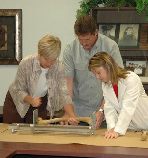 Bone Measurement Demonstration