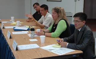 Cj Planner meet with prison officials from Uzbekistan and Kazakhstan