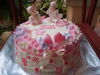 Aqiqah -Fondant Cake