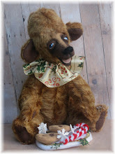 One of a kind Mohair bears