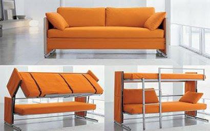 esse sof bem moderno pois ele pode ser tambm em beliche timo para que tem pouco espao